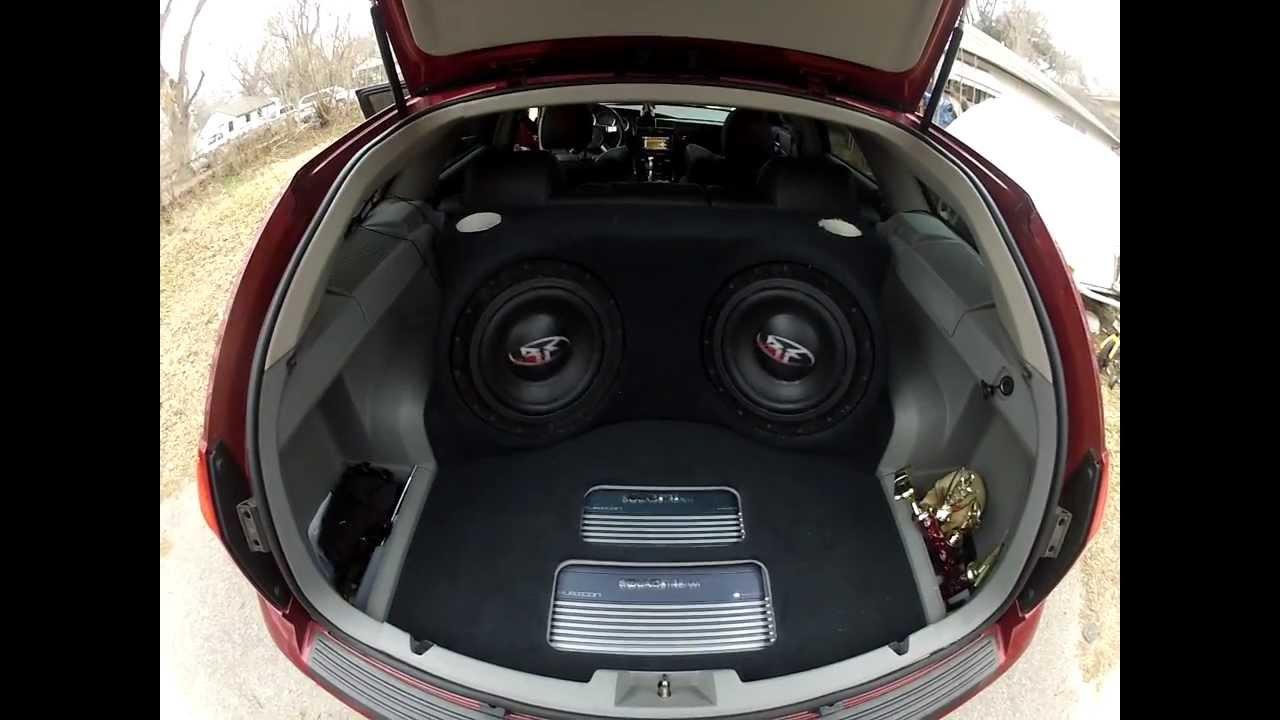 2006 Dodge Magnum 1st Tune Test On Freshly Ported Box
