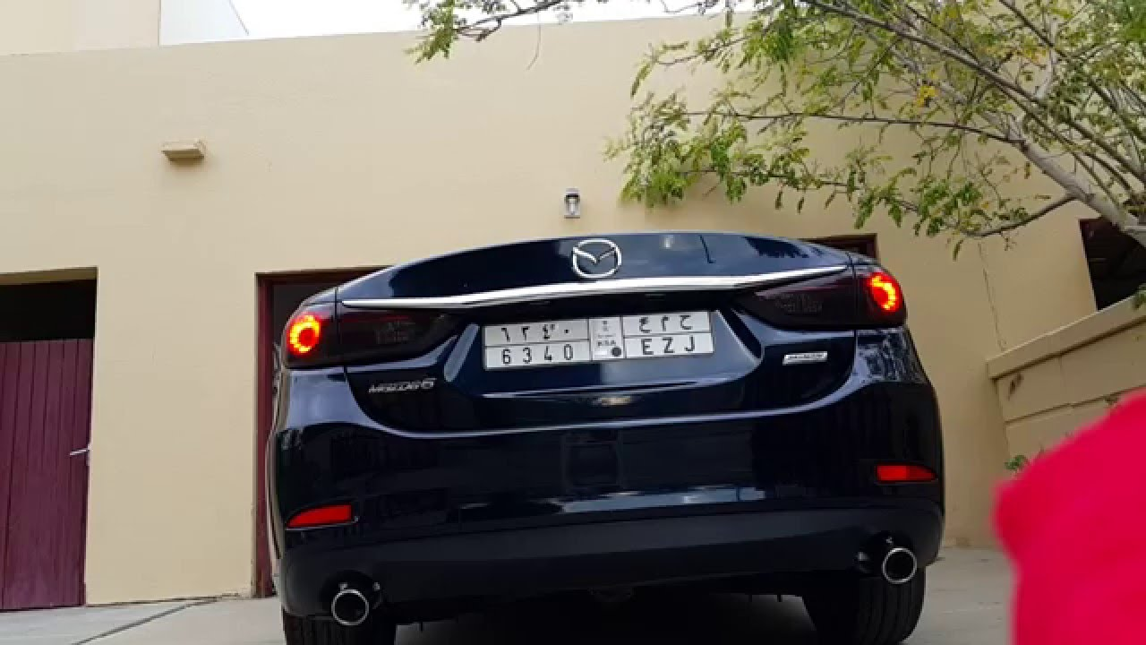 2016 Mazda 6 Sport Exhaust Straight Pipe