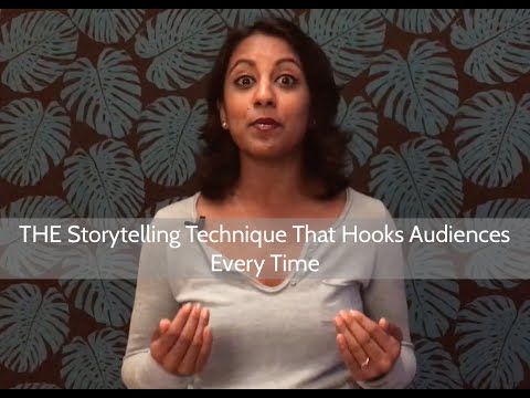 THE Storytelling Technique That Hooks Audiences Every Time | Poornima Vijayashanker