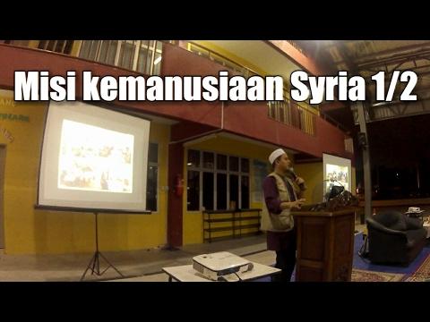 Usrah Gabungan: Pray for Syiria oleh wakil Malaysian Life Line for Syiria 1/2