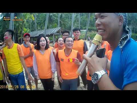 Đại học FPT Cần Thơ hành trình du lịch Nam Du cùng cty Nụ Cười Mêkong