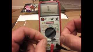 Diodes - How to test using a multimeter
