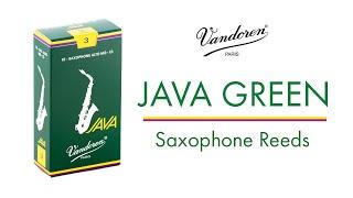 JAVA Green Saxophone Reeds - Vandoren