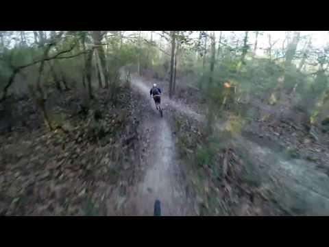 Mountain bike trail riding in LA
