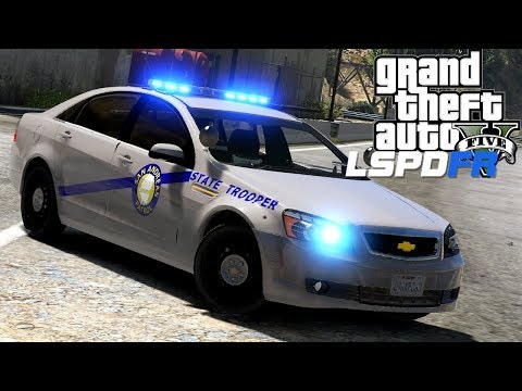 GTA 5 - LSPDFR - Ep 128 - Kentucky State Police!