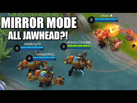 NEW MIRROR MODE THE CHAOS OF ALL JAWHEAD GAMEPLAY