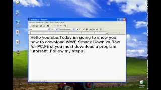 Download WWE SmackDown vs Raw 2009 PC