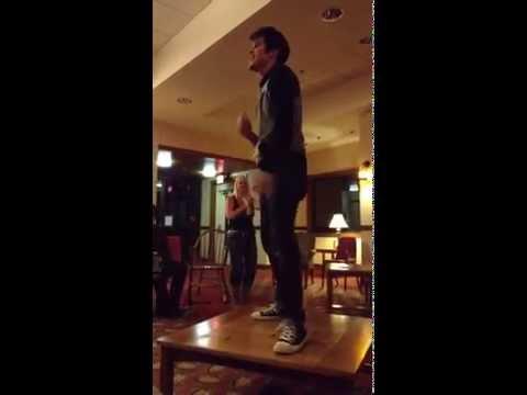 Dean Z dancing to Billie Jean - video by Susan Quinn Sand