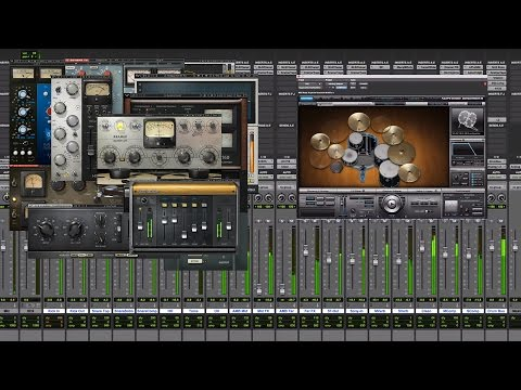 How To Mix Drums Using Waves Plugins And Superior Drummer 2