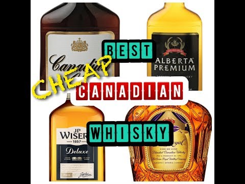 Best CHEAP Canadian Whisky - Shootout!