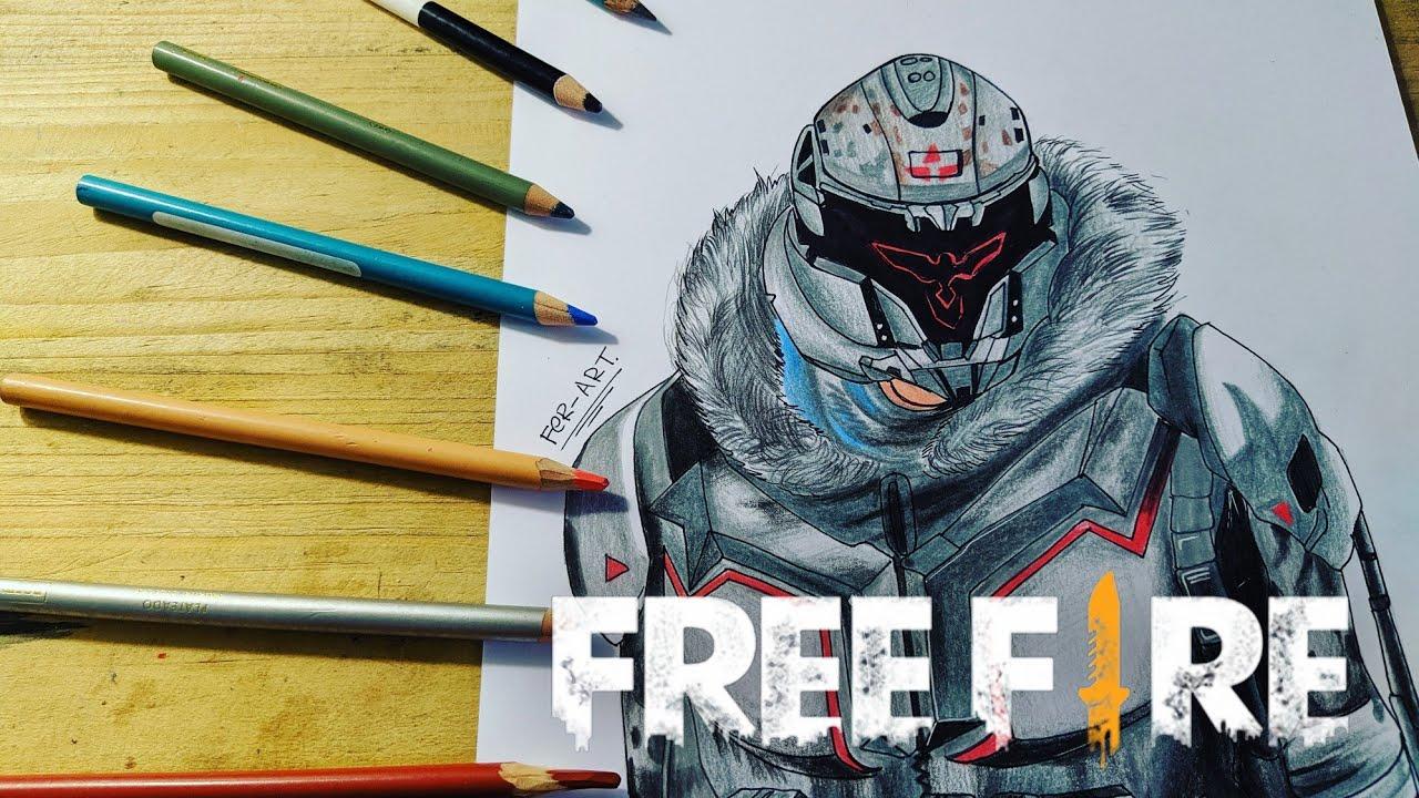 Dibujando La Skin Del Guerrero De Invierno Skin Heroico Free