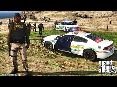 GTA 5 MODS LSPDFR 990  - TAHOE SHERIFF PATROL!!! (GTA 5 REAL LIFE PC MOD)