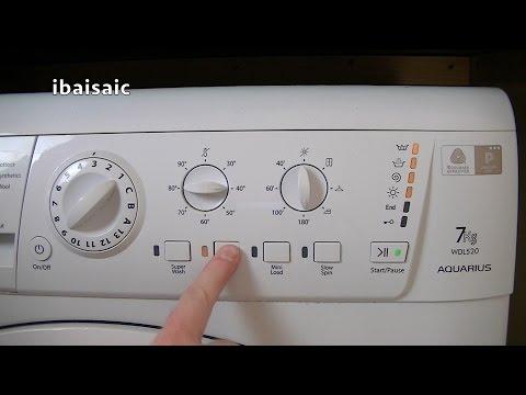 Hotpoint aquarius wml540 washing machine not spinning