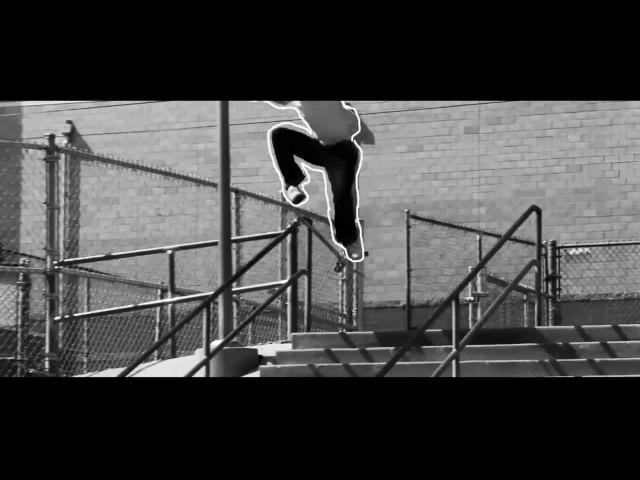 skateboard scribble effect