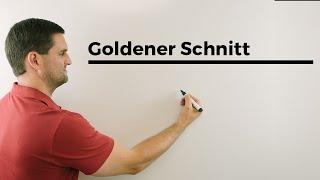 Golderner Schnitt, Ist euer Bauchnabel im goldenen Schnitt;)? Mathehilfe online