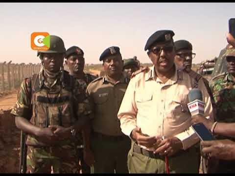 Construction of Kenya Somalia wall