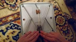 Як полагодити підлогові ваги механічні
