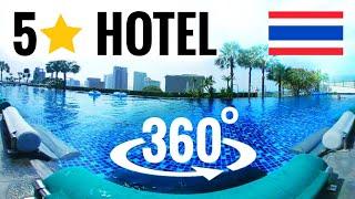 ⭐ 360 video | 5 STAR HOTEL Thailand 🤩 Grand Centre Point Pattaya VR Virtual Reality 3D @ Terminal 21