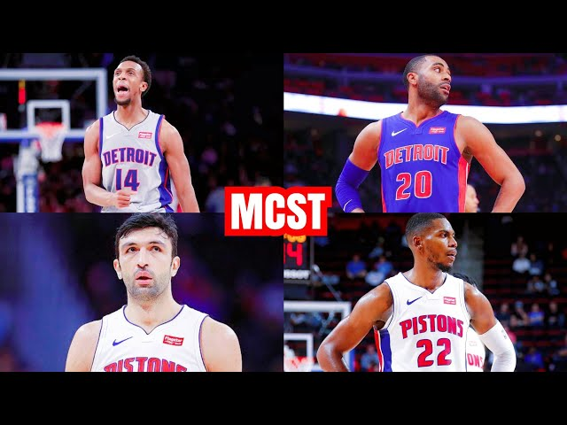 Which Free Agents Should Detroit Pistons Bring Back   Pistons Salary Cap & Contract Breakdown...