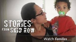 Homeless Families in Skid Row | Union Rescue Mission