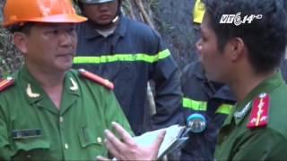 (VTC14)_Đã tiếp cận được hai nạn nhân vụ sập hầm than