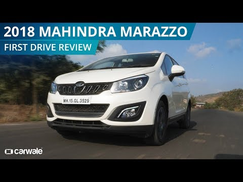 2018 Mahindra Marazzo   First Drive Review   CarWale
