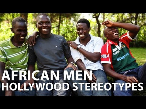 African Men, Hollywood Stereotypes