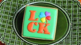 Saint Patrick's Day Luck Shamrock Cookies, Haniela's