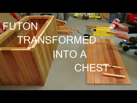 Futon to Chest Build