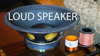 كيفية جعل المتكلم في المنزل - من السهل جدا!