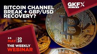 Bitcoin vào vùng Break + Cặp GBP/USD Hồi phục?