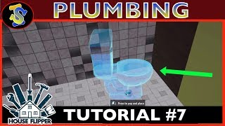 House Flipper Tutorial | How Plumbing Works | #TipsTricks #HouseFlipperTutorials