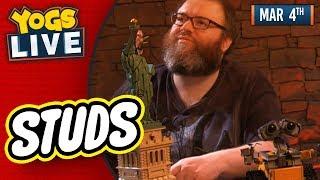 LEGO STUDS STATUE OF LIBERTY & WALL-E BUILD w/ Simon & Turps! - 04/03/19 thumbnail