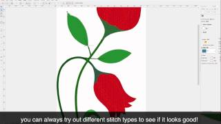 Learn to Digitize Like a Pro with Embird!  Tulip Tutorial