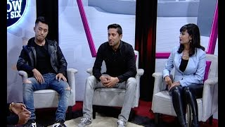 Himalaya Roadies Judges - Laure, Deeya Maskey & Raymon Das (LIVON-THE EVENING SHOW AT SIX)