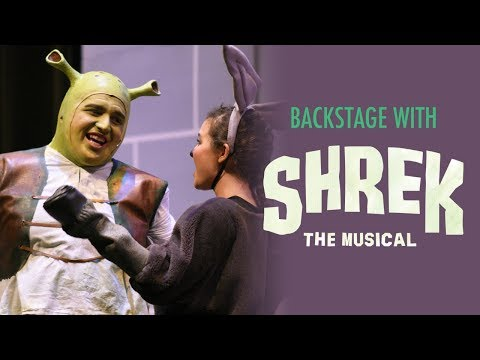 "Backstage with ""Shrek the Musical"""