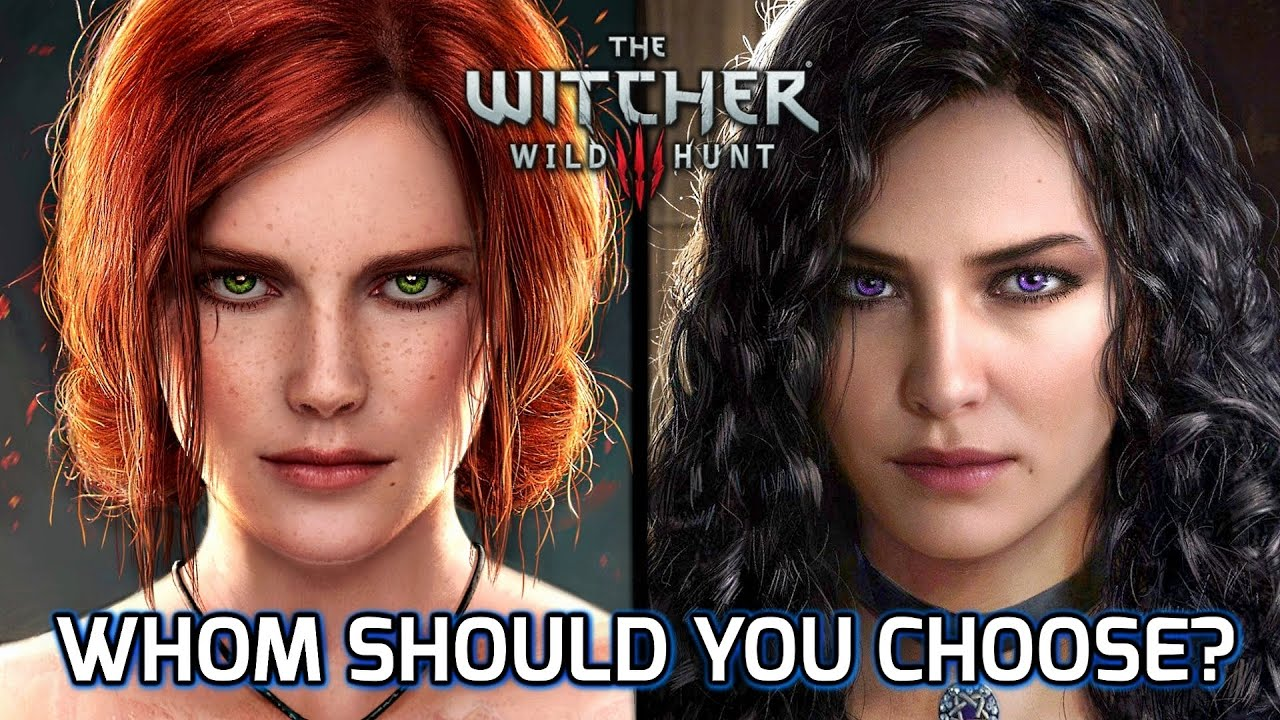 5 Years Later... Triss vs Yennefer Romance Debate in the Witcher 3. Based on the Books and Games.