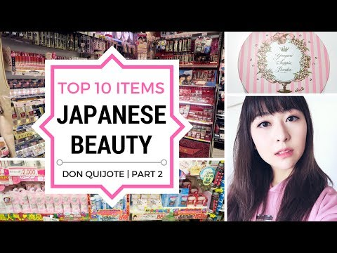 Top 10 Japanese Beauty Items to Buy at Don Quijote | JAPAN S