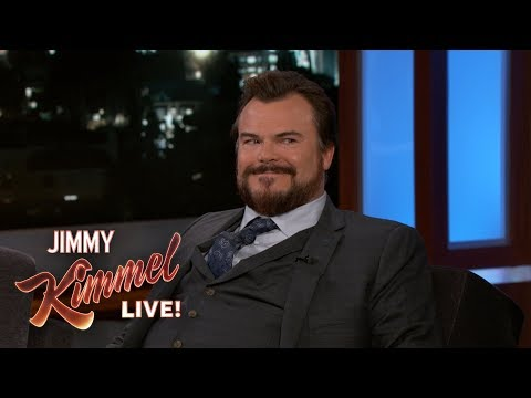 Jack Black Makes a Great Entrance