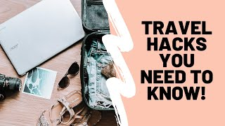18 Travel Packing Hacks You Need To Know!