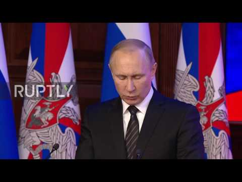 Russia: Putin calls for development of missiles capable of penetrating all defence systems