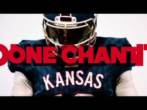 adidas 'Limestone' alternate uniforms // Kansas Football // 10.12.16