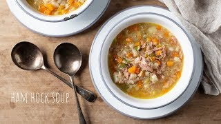 Ham Hock Soup - Quick and Easy Recipe - Campervan Cooking