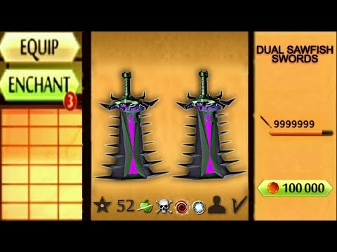 Shadow Fight 2 The Most Unstoppable Swords