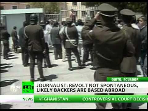 President Correa rescued as Ecuador capital Quito turns to battleground