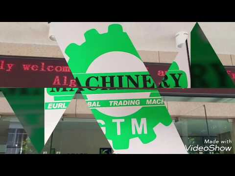 Machine industrielle cher eurl global Trading machinery