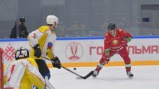 Хоккейная команда Президента Беларуси победила в матче Республиканских соревнований среди любителей