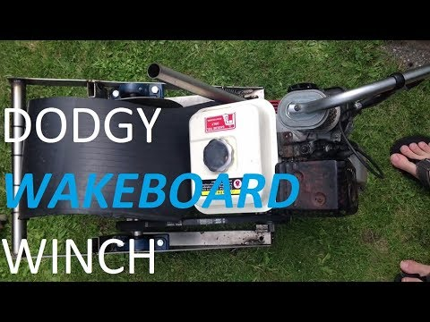 A simple homemade wakeboard winch