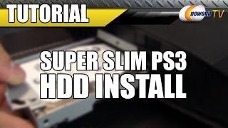 Super Slim PS3 HDD Install Tutorial - Newegg TV