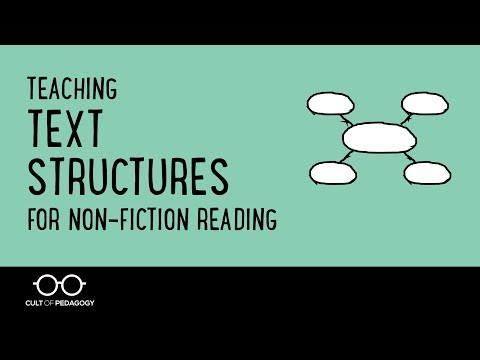 Teaching Text Structures For Non Fiction Reading YouTube